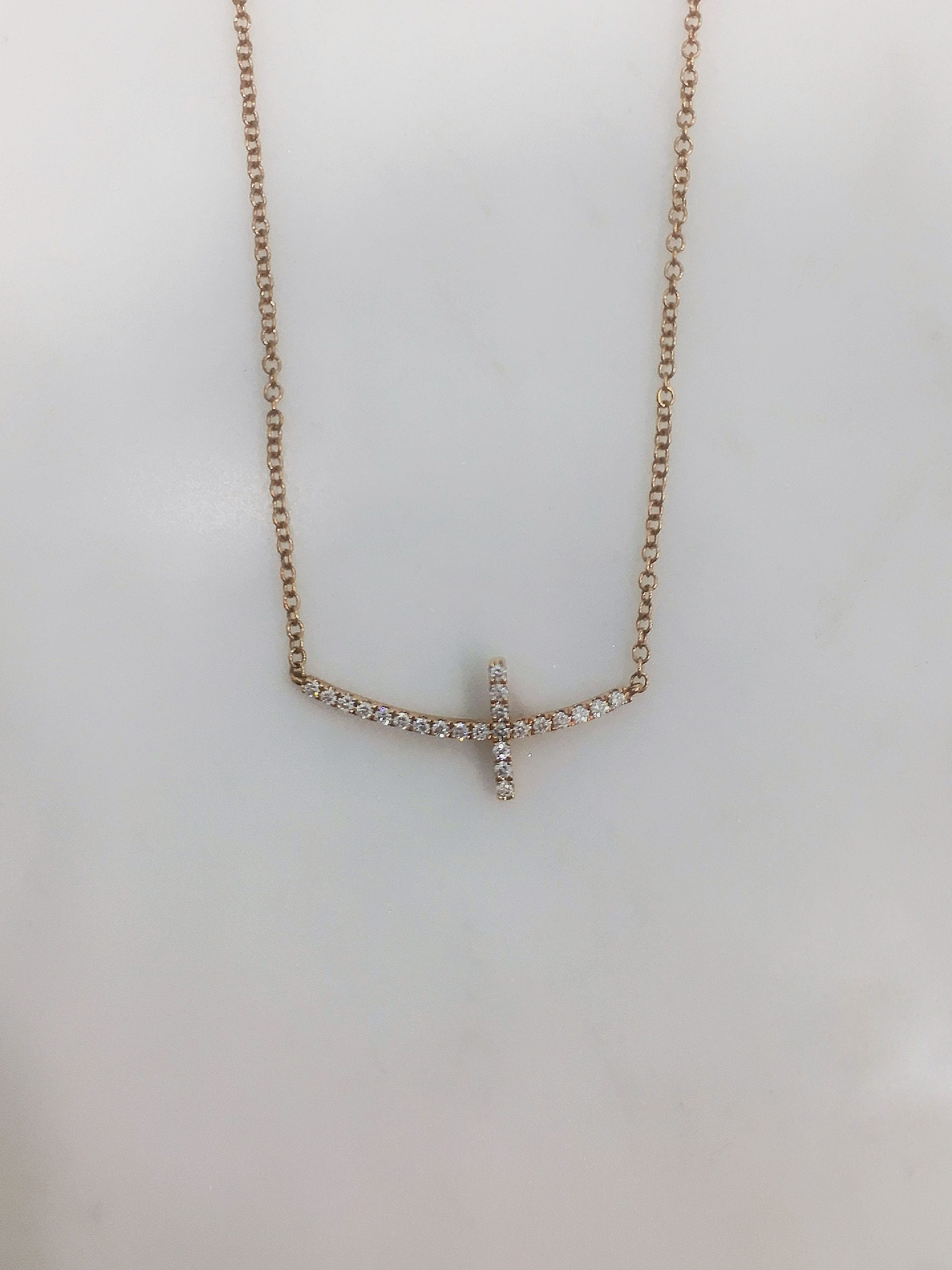 letter a initial silver sideways s jewel style build necklace