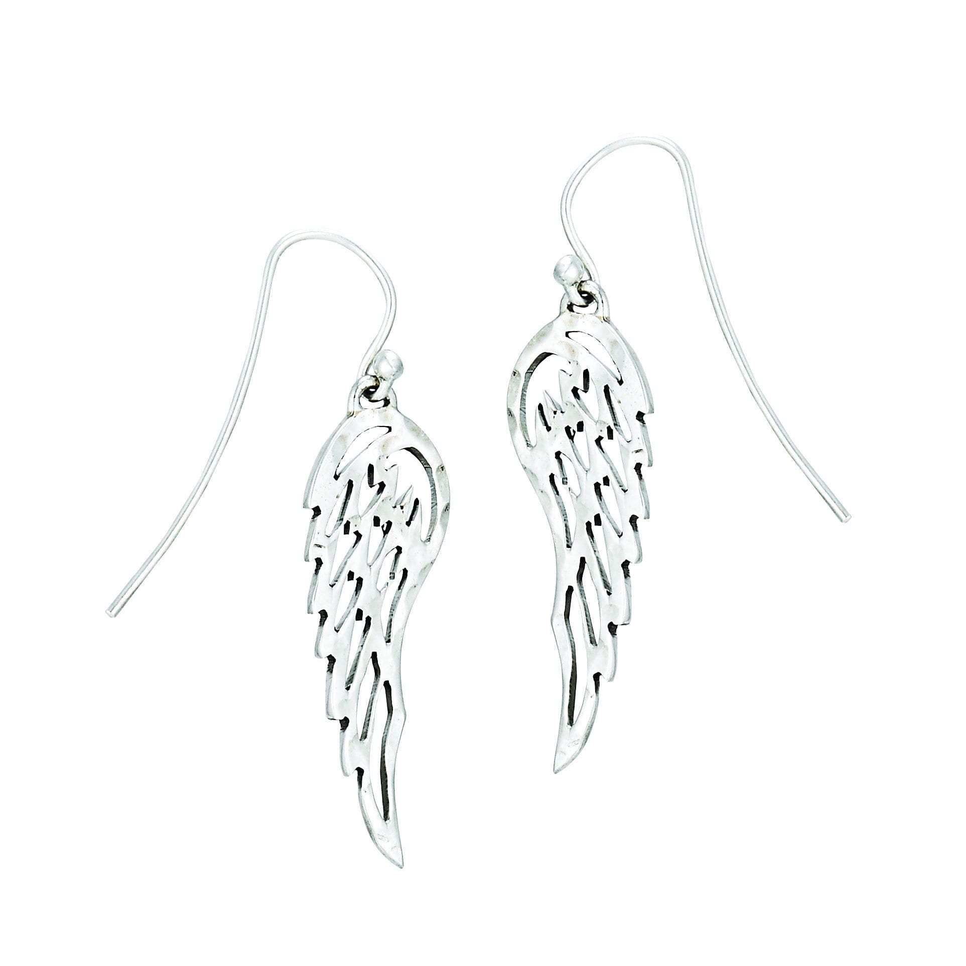 Sku 21592 Categories Collections Plata Sterling Silver Earrings Tags Angel Wing Cut Out Dangle Ss