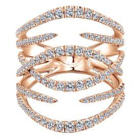 18311-diamond-.99ctw-interlocking-fashion-Gabriel-14k-Rose-Gold-Kaslique-Fashion-Ladies-Ring~LR51003K45JJ-1