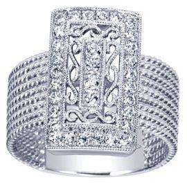 7107-Gabriel-14k-White-Gold-Hampton-Fashion-Ladies-Ring~LR5810W45JJ-4