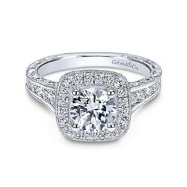 15813-diamond.82ctw-halo-engravedsemi-mounting-Gabriel-Elaine-14k-White-Gold-Round-Halo-Engagement-Ring~ER8794W44JJ-1