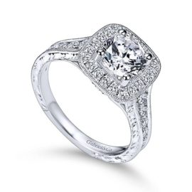 15813-diamond.82ctw-halo-engravedsemi-mounting-Gabriel-Elaine-14k-White-Gold-Round-Halo-Engagement-Ring~ER8794W44JJ-3