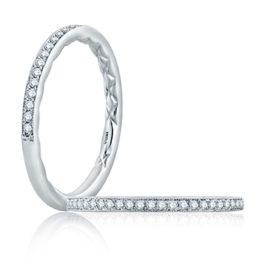 14kt .13ctw Diamond Milgrain Edge Wedding Band