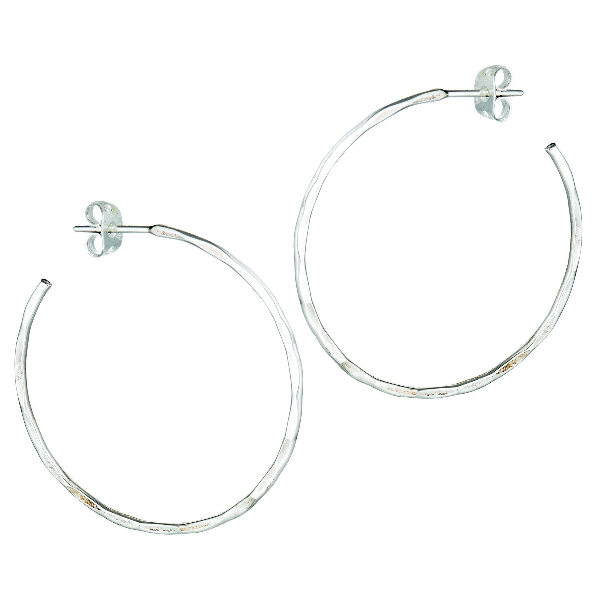 hoop tags earrings silver jupiter categories plata back sterling thin post jewelry ss push hood collections product sku inc