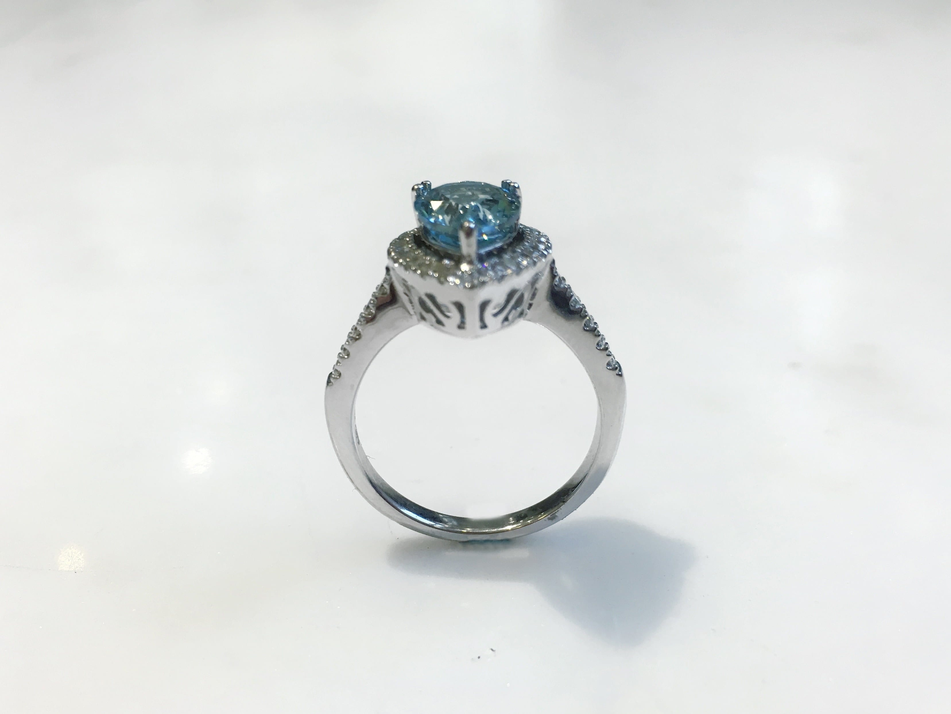 anniversary alysha palladium natural gold aquamarine blue engagement silver promise ring sterling yellow aa rose simple products jewellery whitfield white