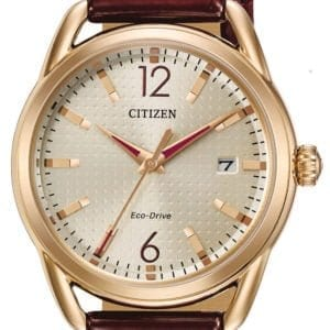 FE6083-05P Citizen Eco Drive Ladies LTR Rose Tone Watch