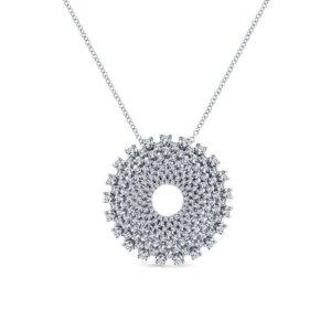 14kt 2.02ctw Multi Diamond Necklace