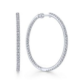 14kt-White-Gold-3.07ctw-Diamond-Contemporary-Inside-Out-Diamond-Hoop-Earrings_EG13507W45JJ