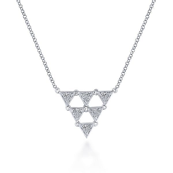 14k-White-Gold-.18ctw-Diamond-Triangular-Pyramid-Kaslique-Fashion-Necklace_NK5812W45JJ