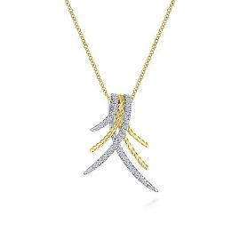 14k-Yellow-&-White-Gold-.23ctw-Diamond-Tapered-Vertical-Cable-Twisted-Hampton-Necklace_NK5846M45JJ