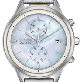 FB2000-03D citizen eco drive ladies chandler mother of pearl watch