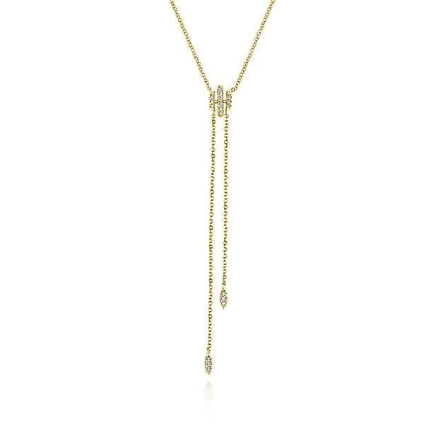23037-Gabriel-14k-Yellow-Gold-Diamond-.12ctw-Y-Knot-Necklace_NK5822Y45JJ