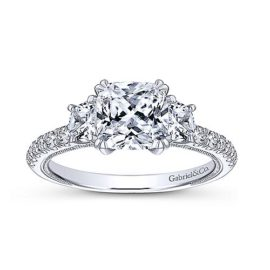19251-Gabriel-Aloise-14k-White-Gold-Cushion-Cut-3-Stones-Engagement-Ring_ER9186W44JJ-4