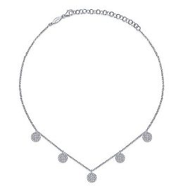 23055-Gabriel-14k-White-Gold-Diamond-Disc-Choker-Necklace_NK5934W45JJ-2