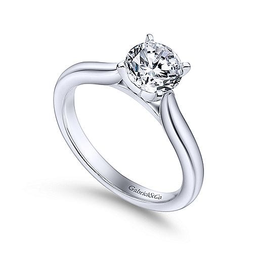 24255-cathedral style solitaire diamond engagement ring Gabriel-14K-WGold-Engagement-Ring_ER6684W4JJJ-3