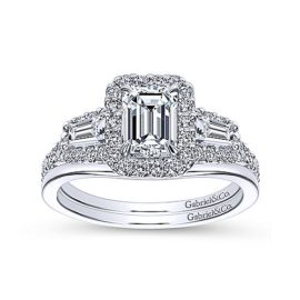 24257-Gabriel-14kt white gold emerald cut & tapered baguette diamond engagement ringER7269W44JJ-4