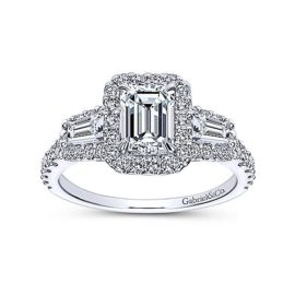 24257-Gabriel-14kt white gold emerald cut & tapered baguette diamond engagement ring----_ER7269W44JJ-5