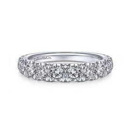 24263-Gabriel-14k-White-Gold-Diamond 1.44ctw Contemporary-Straight-Wedding-Band_WB14892R8W44JJ-1