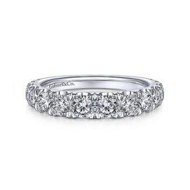 24263-Gabriel-14k-White-Gold-Diamond 1.44ctw Contemporary-Straight-Wedding-Band_WB14892R8W44JJ-1