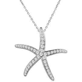 23896-445-21-01w-14ktwhitegolddiamond.63ctwstarfishpendant
