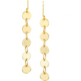 24493-14ktyellowgold5dropdiskearrings-5T114