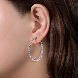 24663 - Diamond 2.63ctw Inside Out Diamond Hoops - Gabriel-14K-White-Gold-Fashion-Earrings_EG13821W45JJ-2