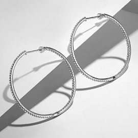 24658 - diamond 1.46ctw Gabriel-14K-White-Gold-French-Pave--40mm-Round-Inside-Out-Diamond-Hoop-Earrings_EG13504W45JJ-5