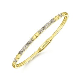 24619- Gabriel-14K-Yellow-Gold-Fashion-Bangle_BG4187-65Y45JJ-2