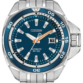 citizen eco drive automatic stainless steel watch