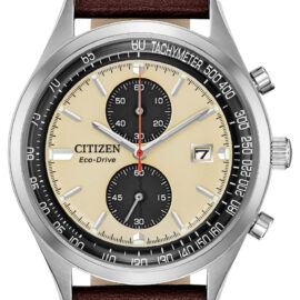 citizen eco drive with 2nd chronograph