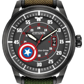 citizen eco drive Captain America watch