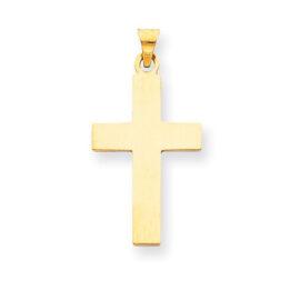 26539 14kt 20mm cross charm