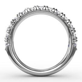 chunky diamond anniversary - wedding band