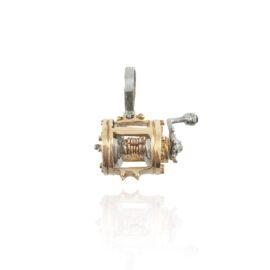 fishing reel pendant