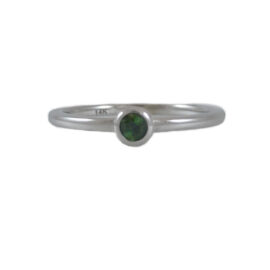 tourmaline stacker ring