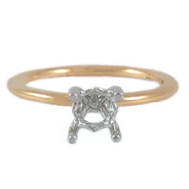 1 carat solitaire engagement ring mounting