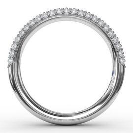 micro-pave diamond band