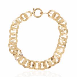 Estate d/c circle link bracelet