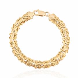 estate flat byzantine bracelet
