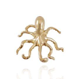 3-D octopus pendant