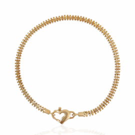 estate weave & bead bracelet