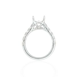 1.12ctw cathedral ring mounting