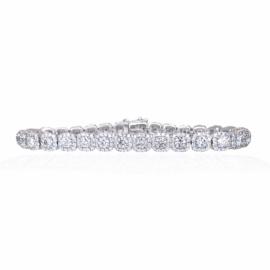 5.48ctw diamond bracelet
