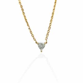 fancy diamond pendant .32ct